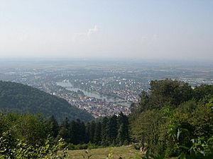 Heidelberg from the Königstuhl