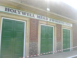 Holywell Mead swimming pool