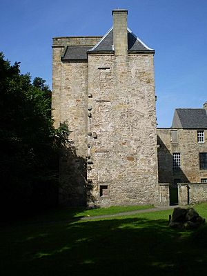 Kinneil House from the south