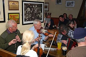Musiciens pub Gus O'Connor-Doolin