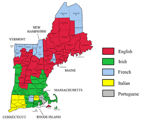 New England ancestry by county - updated