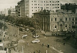North Terrace in 1938
