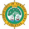 Official seal of Newport News, Virginia
