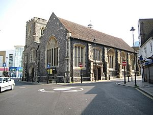 Uxbridge, St Margaret's Church - geograph.org.uk - 798737