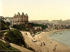 Grand Hotel, Scarborough, Yorkshire, England, 1890s