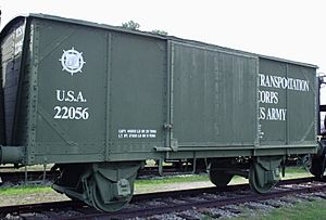 40and8s style boxcar