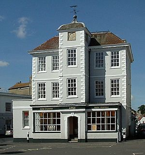 Building dated 1698 Market Square Bicester - geograph.org.uk - 703018