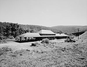 Delaware, Lackawanna and Western Railroad Water Gap Station.jpg