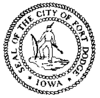 Official seal of Fort Dodge, Iowa
