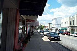 Downtown Franklin Virginia (photographed by Taber Andrew Bain)