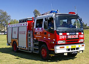 NSW Fire Brigades Pumper Class 2 and rescue