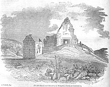 Old Church of Banagher, County of Londonderry
