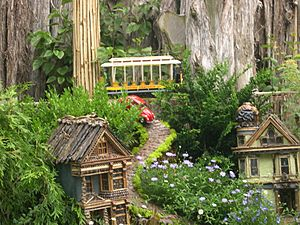 San Francisco train model at the Botanic Garden Chicago 002