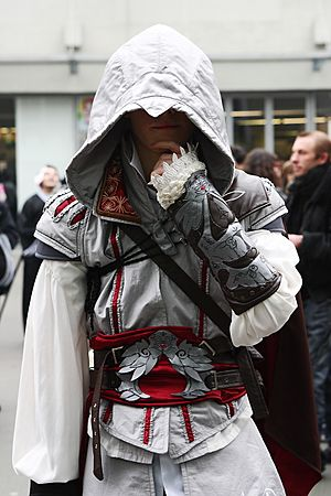 Assassins Creed II Ezio Paris Manga 9 -Cosplay- (4338641182)