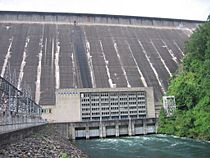Fontana Dam Powerhouse 2005-07-30