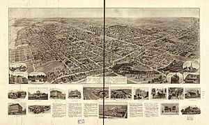 Hughes & Bailey 1909 map of Freeport, NY