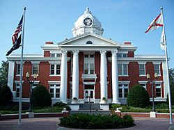 The Pasco County Courthouse in June 2009