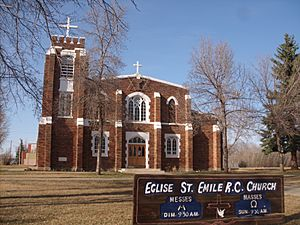 St. Emile R.C. church Legal 01