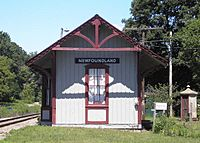 Train Station at Newfoundland, New Jersey