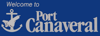 Port canaveral welcome sign 01