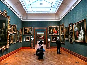2008 inside the National Portrait Gallery, London