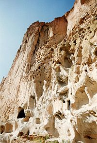 Bandelier-Pockmarked Cliff