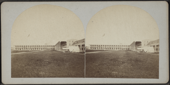 Congress Hall, Cape May, N.J, from Robert N. Dennis collection of stereoscopic views