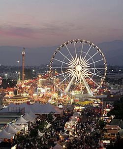 The Los Angeles County Fair at Pomona in September 2008