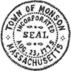 Official seal of Monson, Massachusetts