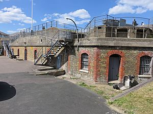 New Tavern Fort in Gravesend Kent UK