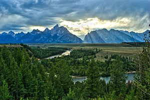 Snake River Overlook, Tetons