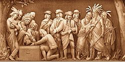 William Penn and the Indians