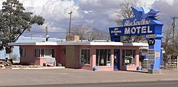 Blue Swallow Motel from SW 2