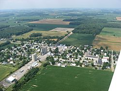 Aerial view of Jenera