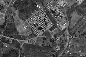 Fort Devens barracks from the air