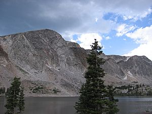 Lake Marie and Snowy Range