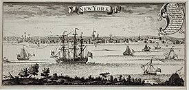 New York City harbor print
