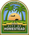 Official seal of Homestead, Florida