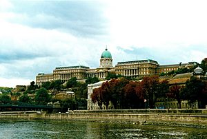 Budapest from Danube river