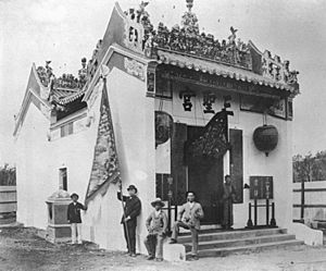 Joss House, Breakfast Creek, 1886 (7848517294)
