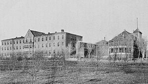 New Mexico Insane Asylum, Las Vegas, New Mexico (1904)