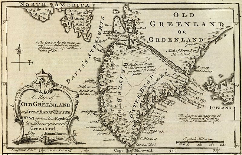 Old Greenland 1747