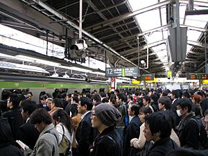 Rush hour at Shinjuku 02