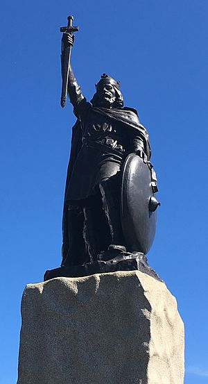 King Alfred's Statue