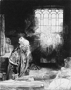 Rembrandt, Faust