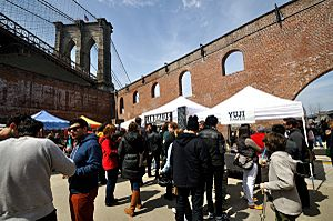 Smorgasburg in Dumbo