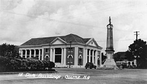 StateLibQld 1 139085 State Government Building at Cairns, ca. 1936