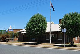 West Wyalong Police Station 001