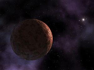 Artist's conception of Sedna