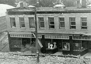 Bank of Montreal damage in 1946